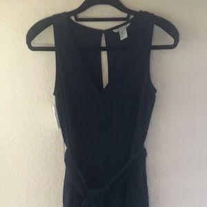 H&M navy jumpsuit